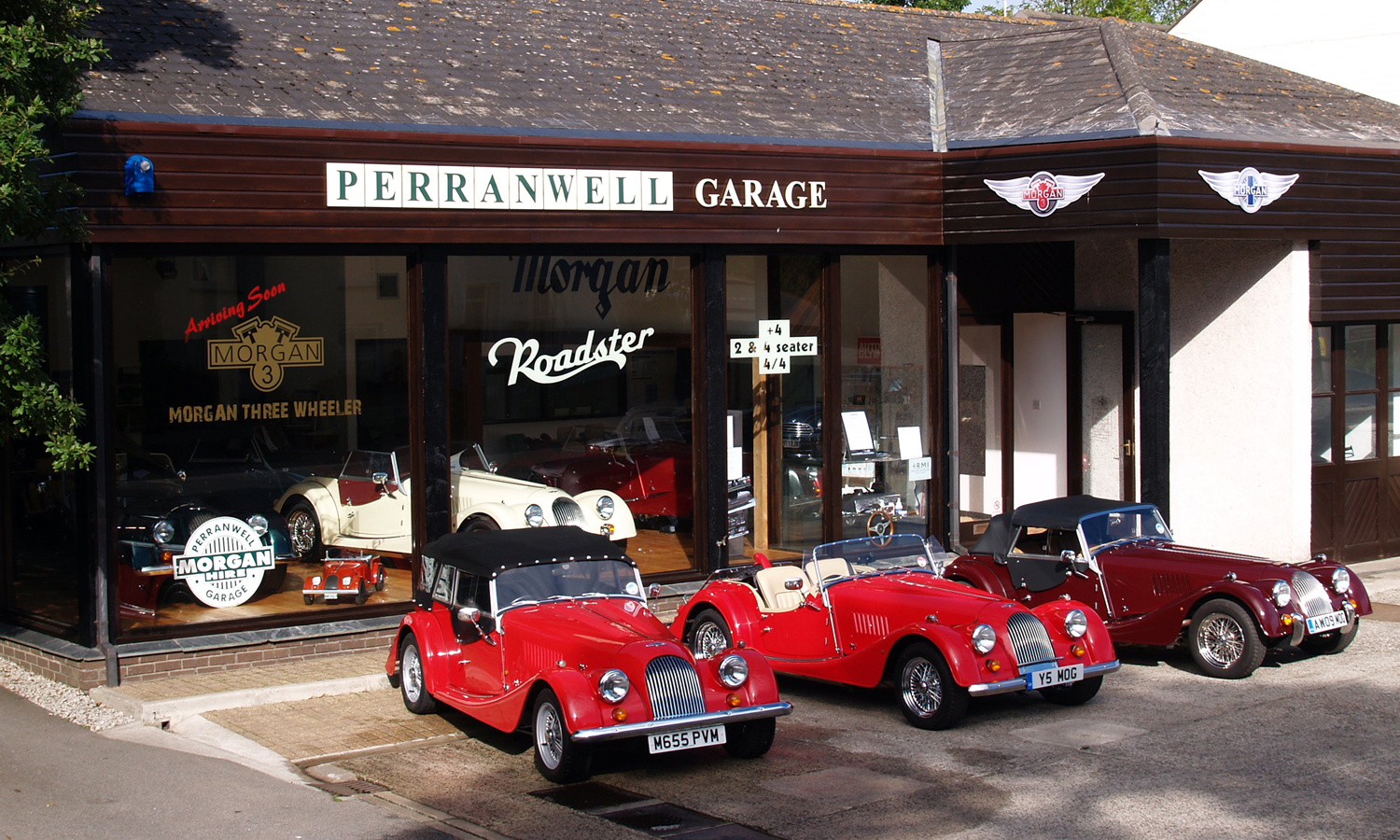 perranwell garage new and second hand morgan cars