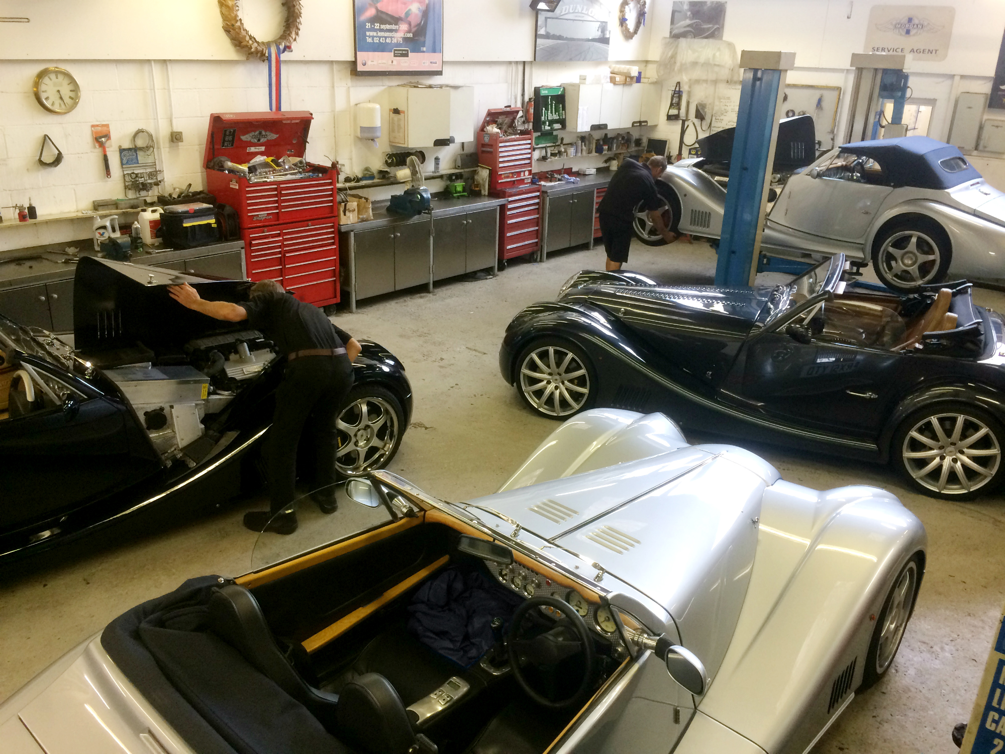 Morgan Aero Servicing at Techniques in Stotfold, Hertfordshire