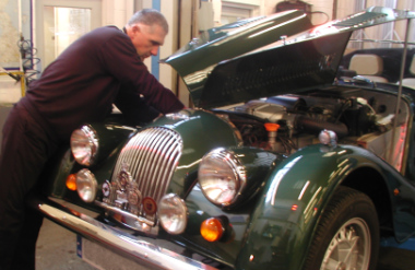 Service work being carried out in our workshop