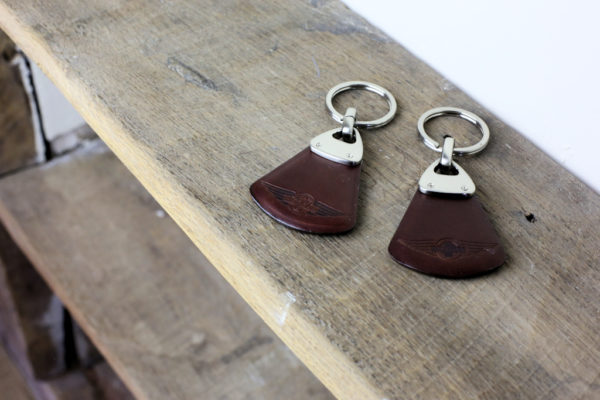 Leather Key Fob-2989