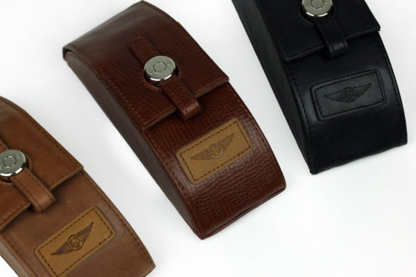 Leather Glasses Case-816