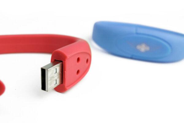 4GB Silicone Wristband Memory Stick-1268