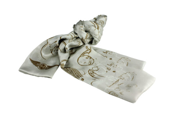 Ladies Silk Scarf-857