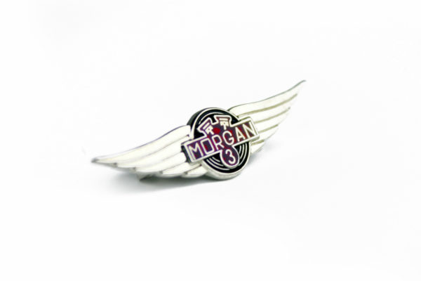 Morgan 3-Wheeler Lapel Badge-0