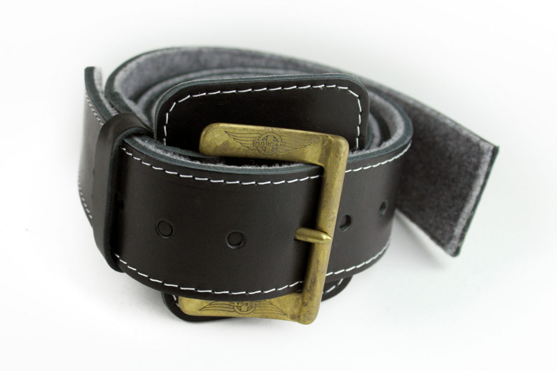 High Quality Leather Bonnet Strap - Brass Buckle-0