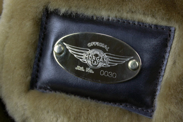 Leather / Sheepskin Flying Jacket - 3-Wheeler-906