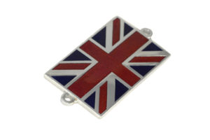 Union Jack Bonnet Badge-0