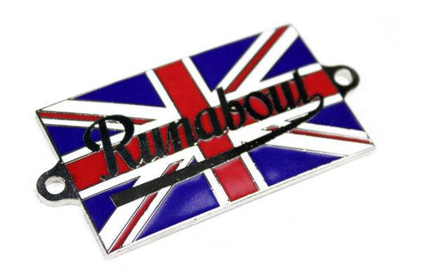 """""""Runabout"""" Union Jack Bonnet Badge-0"""