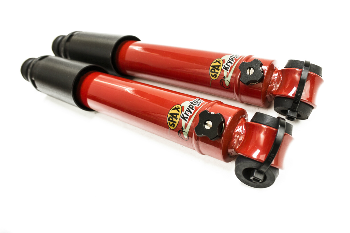 SPAX adjustable shock absorbers - Road Going - Rear-0