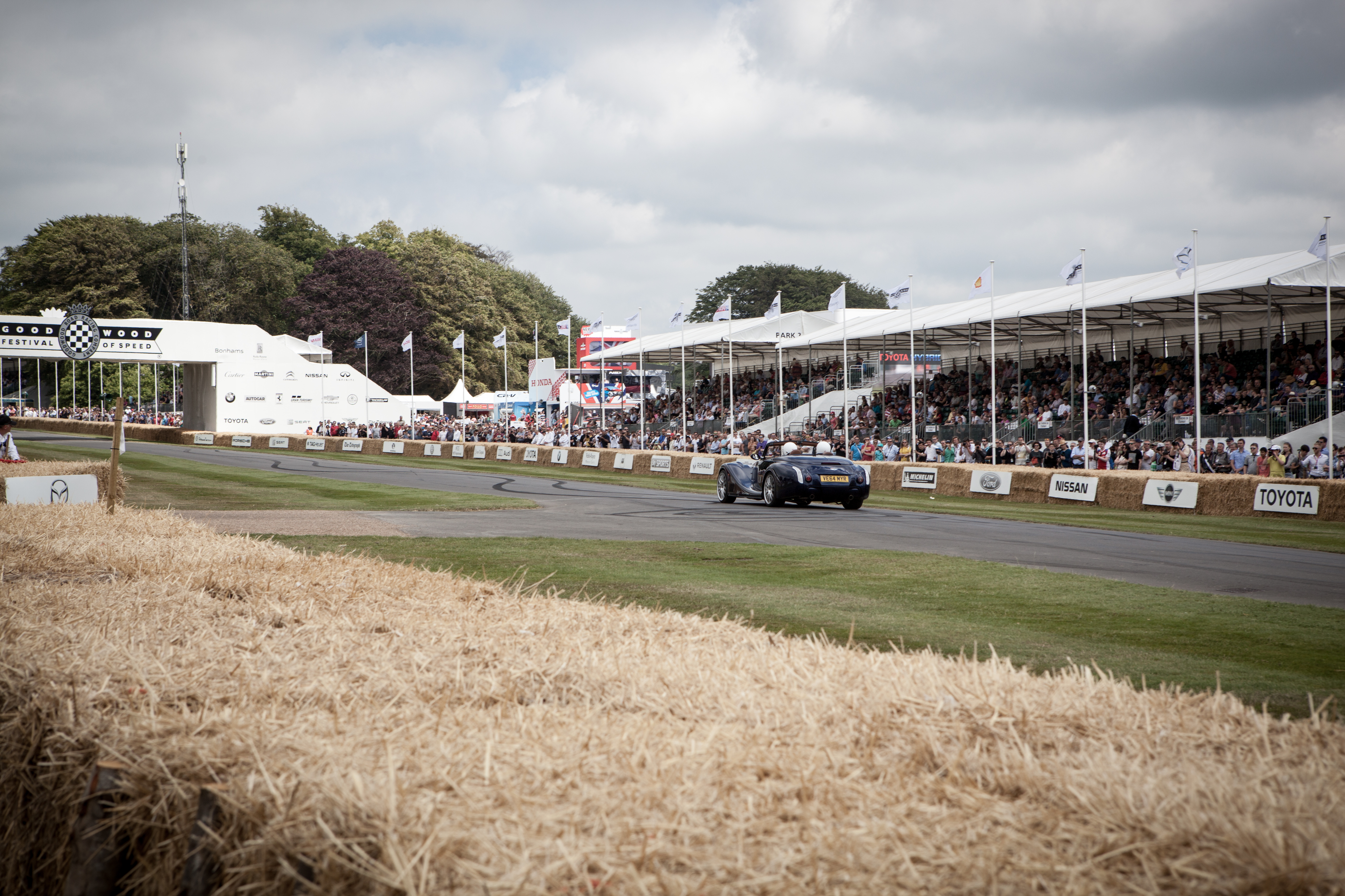 Festival Of Speed >> Morgan At The Goodwood Festival Of Speed 2015