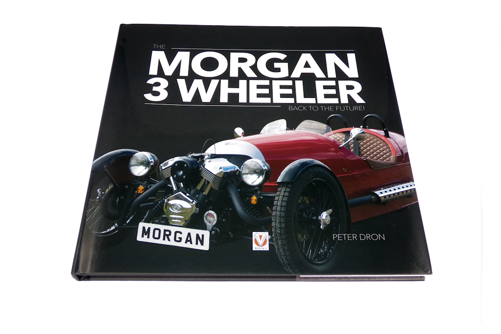 The Morgan 3 Wheeler Book - Back to the Future! by Peter Dron-0