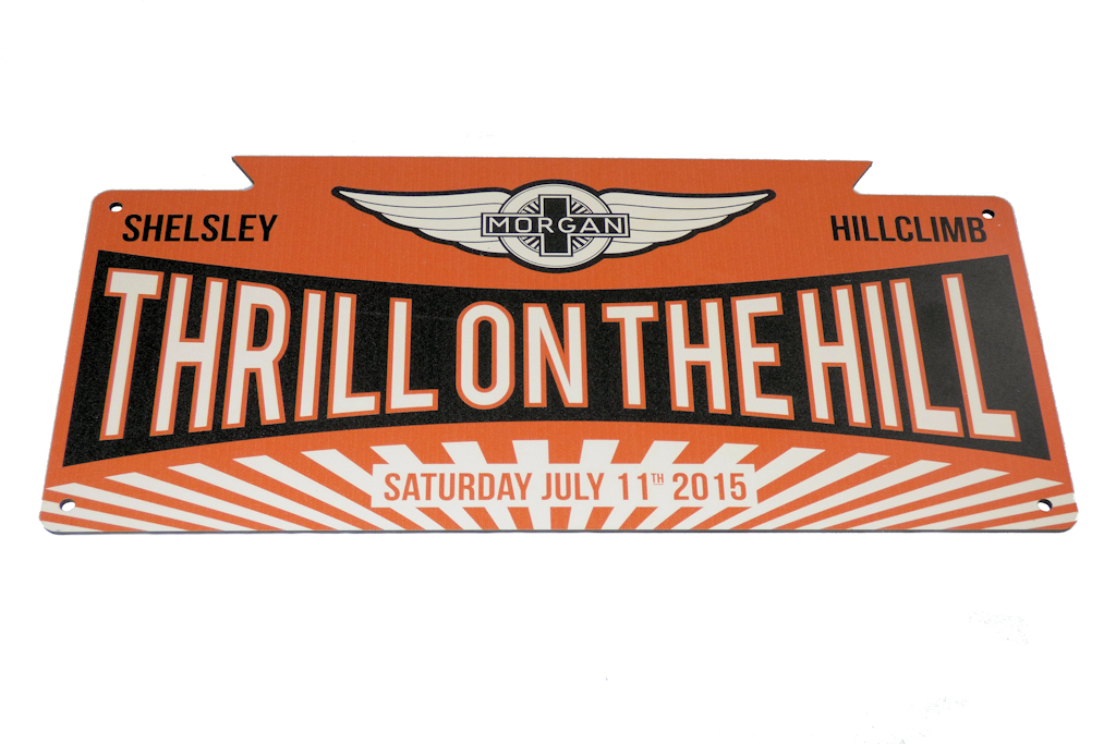 Thrill on the Hill Bumper Plaque-0