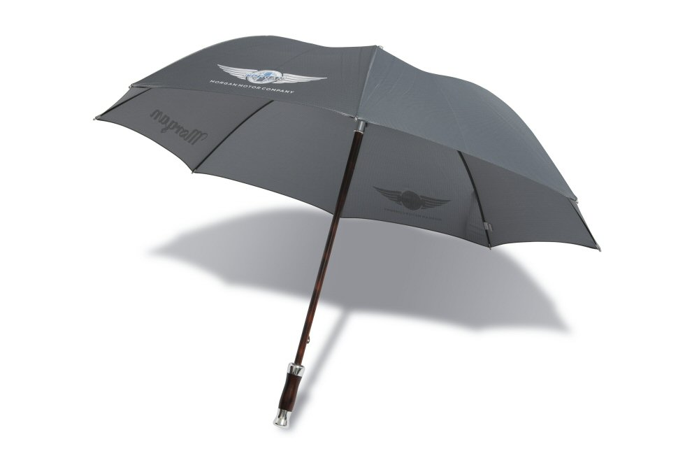 Morgan Design Executive Umbrella - Silver/Grey-0
