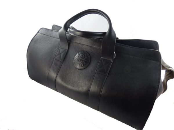 Aviator 1909 Morgan Travel Bag in Genuine Black Leather-2155