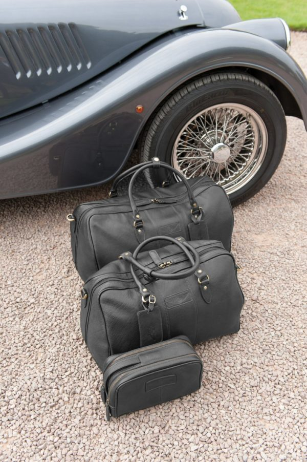 Charles - Large Leather Holdall embossed with Morgan Wings-2222