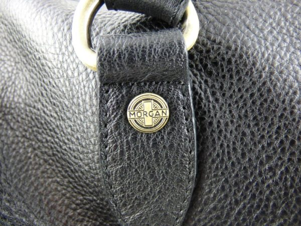Harry - Medium Leather Holdall embossed with Morgan Wings-2230