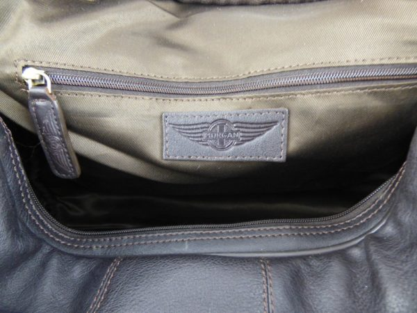 Charles - Large Leather Holdall embossed with Morgan Wings-2223