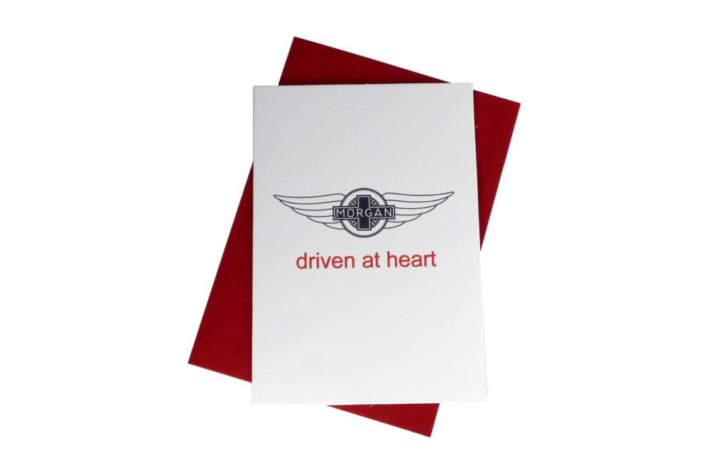 Morgan Greeting Card - Driven At Heart-0