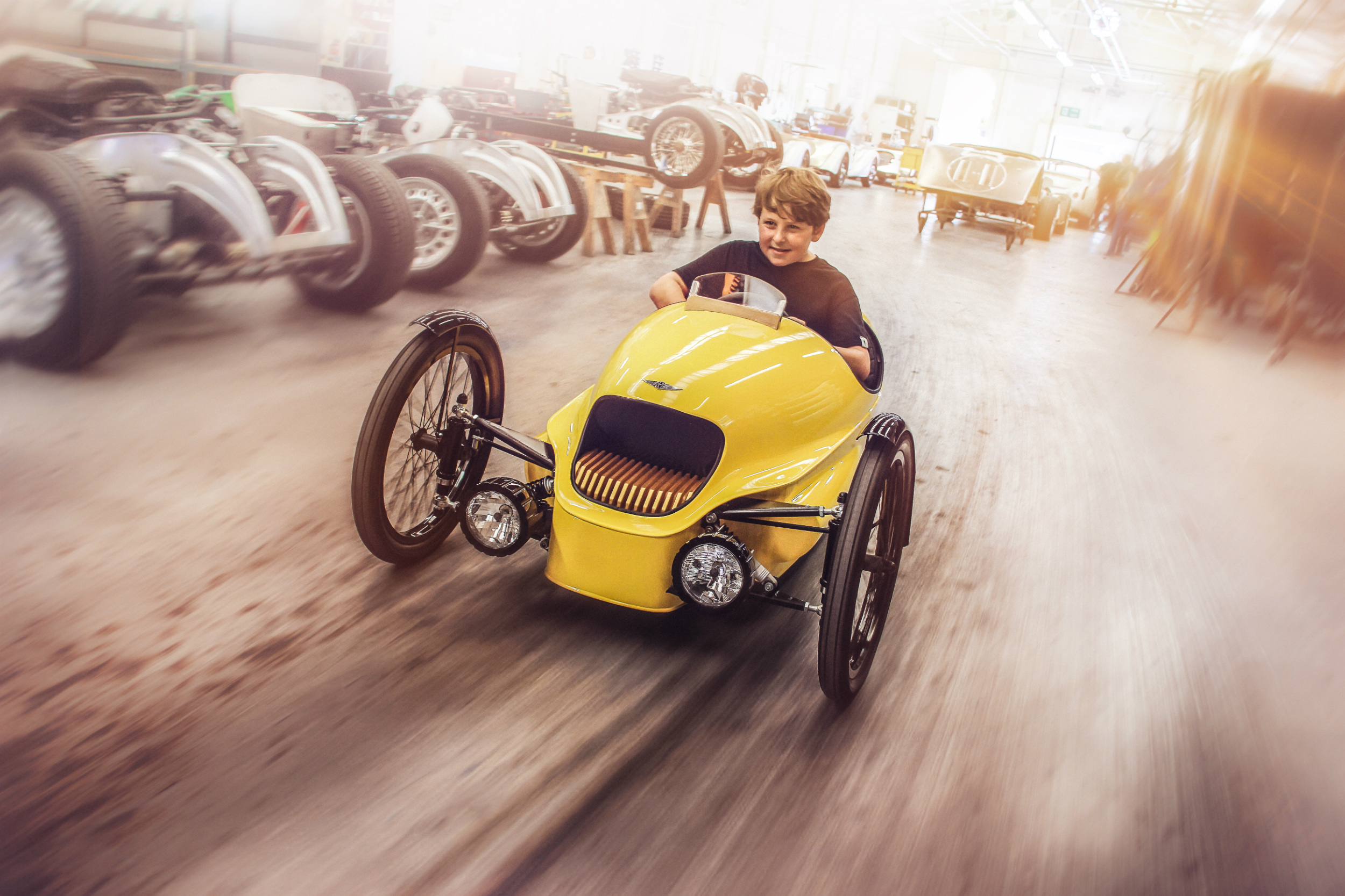 Morgan EV3 for the little ones