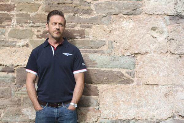 Mens Morgan Navy Polo-shirt-2841