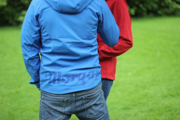 Ladies Blue Softshell Jacket-2837