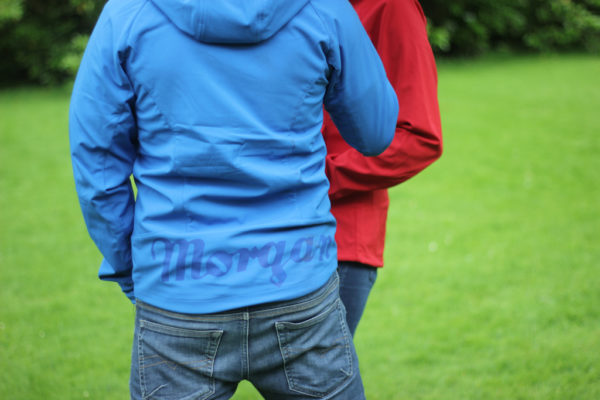 Mens Blue Softshell Jacket-2838