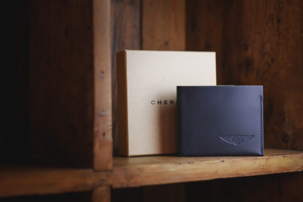 Four Card Wallet Navy - Cherchbi-3334