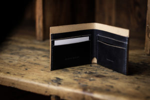Four Card Wallet Navy - Cherchbi-0