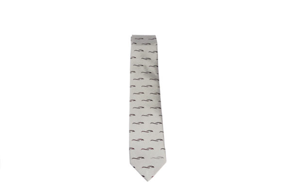 Morgan Silk Tie - Morgan Design logo-2884