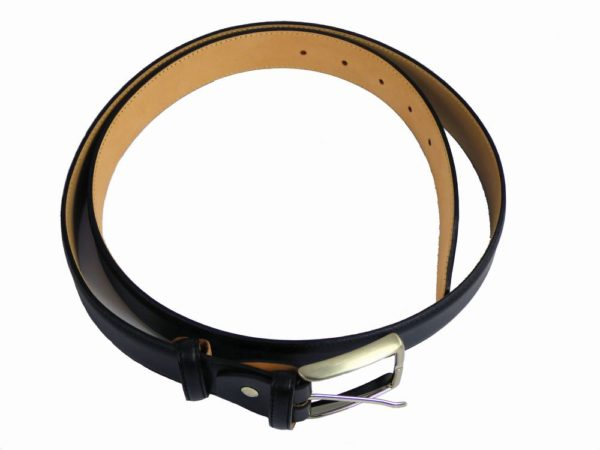 Morgan Design Mens Belt - Black-2781