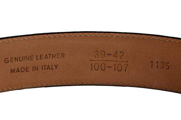 Morgan Design Mens Belt - Brown-2871