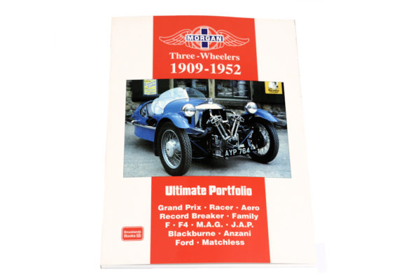 Morgan Three-Wheelers 1909-1953 by Brooklands Books-0