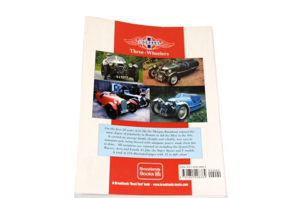 Morgan Three-Wheelers 1909-1953 by Brooklands Books-2893