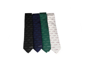 Morgan Silk Tie - Morgan Design logo-0