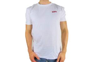 "Mens Morgan ""Only The Best"" + Helmet Logo on Back T-Shirt-0"