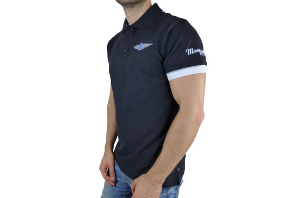 Mens Morgan Black Polo-shirt-2668