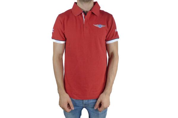 Mens Morgan Red Polo-shirt-0