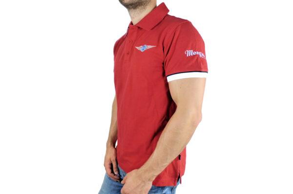 Mens Morgan Red Polo-shirt-2671