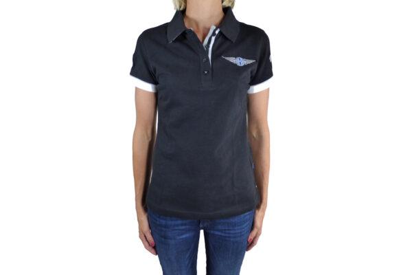 Ladies Black Polo-shirt-0