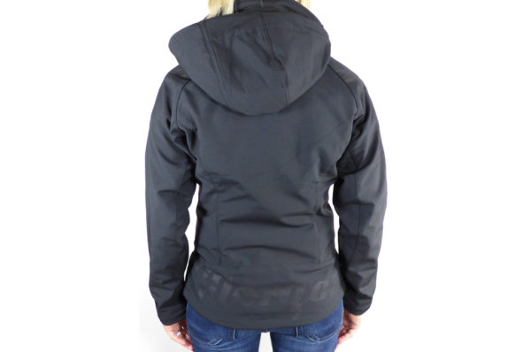 Ladies Black Softshell Jacket-2740
