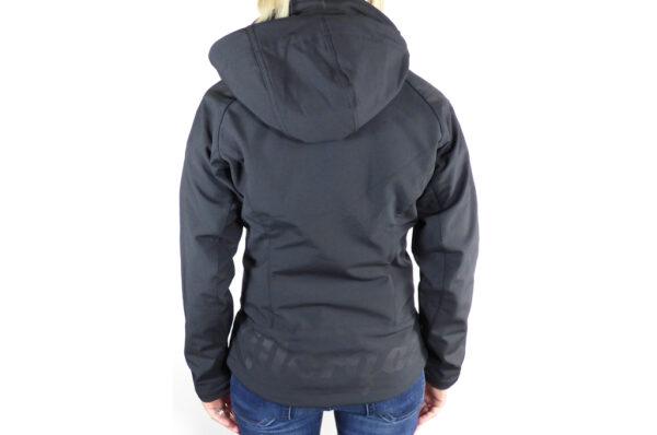 Ladies Black Softshell Jacket-2740