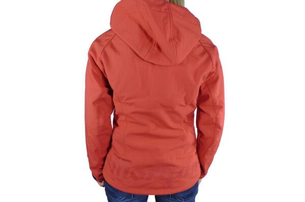 Ladies Red Softshell Jacket-2735