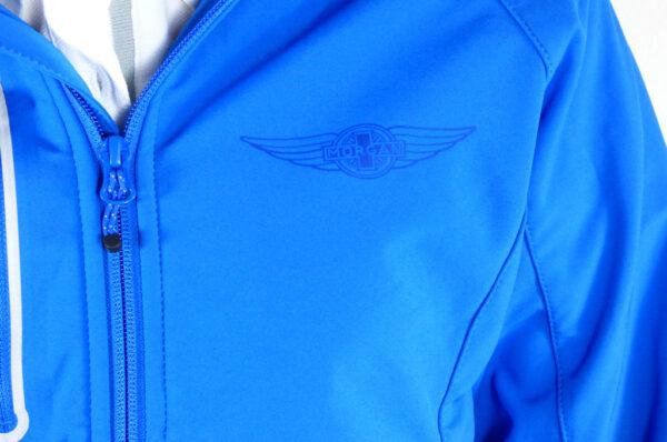 Ladies Blue Softshell Jacket-2730