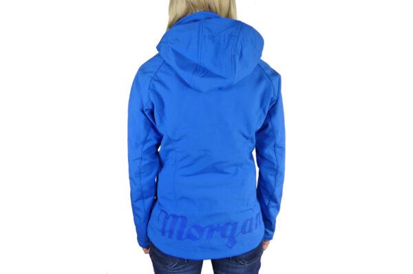 Ladies Blue Softshell Jacket-2728