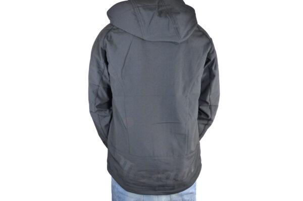 Mens Black Softshell Jacket-2723