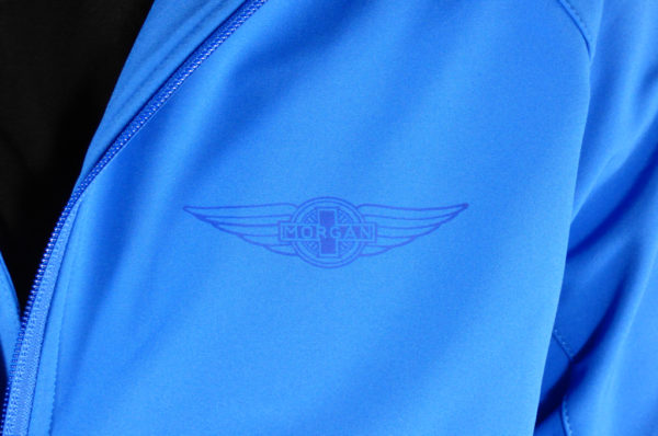 Mens Blue Softshell Jacket-2712