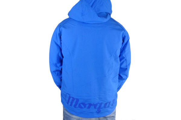 Mens Blue Softshell Jacket-2710