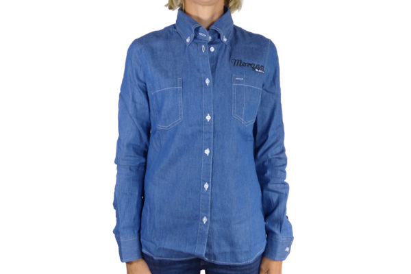Ladies Denim Shirt-0