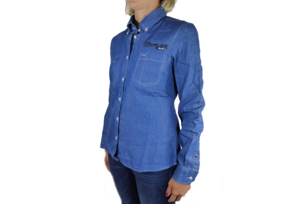 Ladies Denim Shirt-2703
