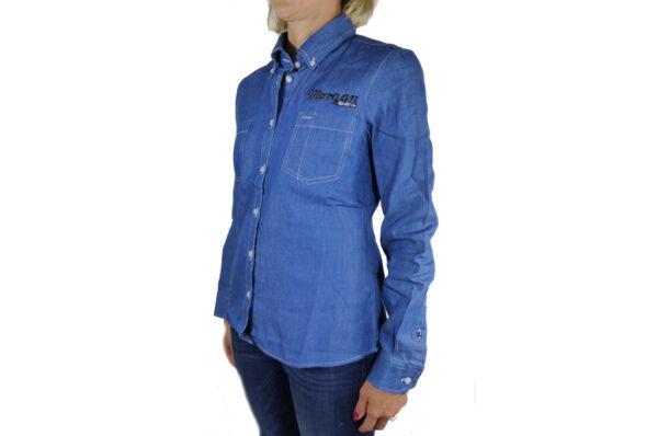 Ladies Denim Shirt-2703